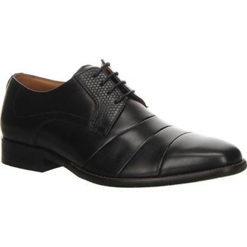 Cipők Férfi Oxford cipők Salamander Henley Flats Black