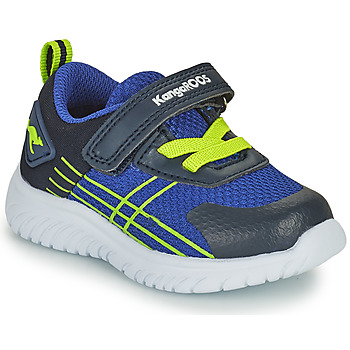 Cipők Fiú Rövid szárú edzőcipők Kangaroos KI-TWEE EV Kék / Zöld