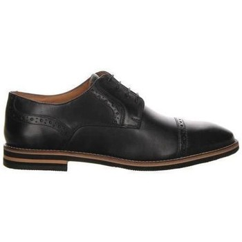 Cipők Férfi Oxford cipők Salamander Vasco Flats Black