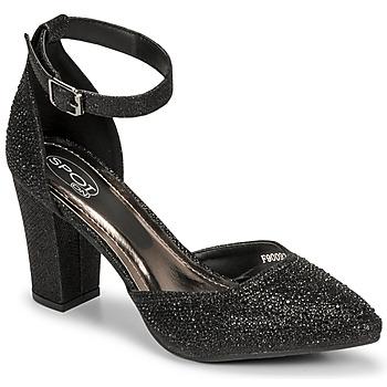 Cipők Női Szandálok / Saruk Spot on F90092 Fekete