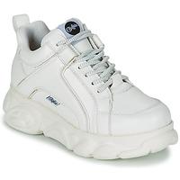 Cipők Női Rövid szárú edzőcipők Buffalo CORIN Fehér