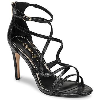 Cipők Női Szandálok / Saruk Buffalo MERCY 2 Fekete