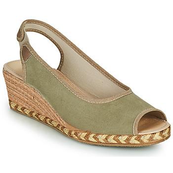 Cipők Női Gyékény talpú cipők Damart 43775 Keki