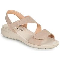 Cipők Női Szandálok / Saruk Damart 67808 Bézs / Rózsaszín
