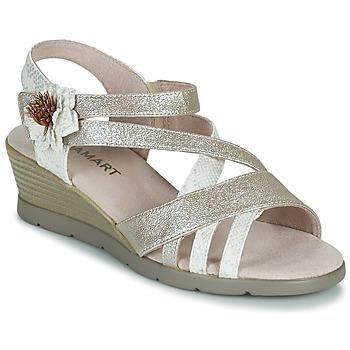 Cipők Női Szandálok / Saruk Damart 61170 Ezüst