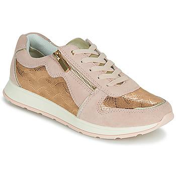 Cipők Női Rövid szárú edzőcipők Damart 64823 Krém