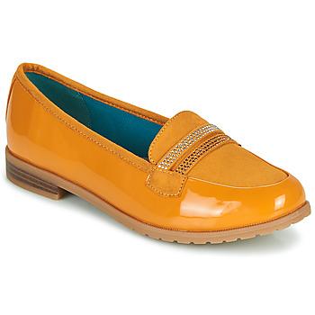 Cipők Női Mokkaszínek Damart 64847 Barna
