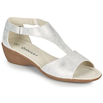 Cipők Női Szandálok / Saruk Damart 49019 Ezüst