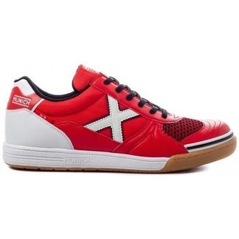 Cipők Férfi Rövid szárú edzőcipők Munich INDOOR 1068 3111068 Piros