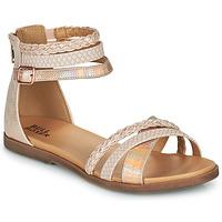 Cipők Lány Szandálok / Saruk Bullboxer ALM013F1S-ROGO Rózsaszín