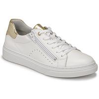 Cipők Lány Rövid szárú edzőcipők Bullboxer AOP000E5L-WHPN Fehér