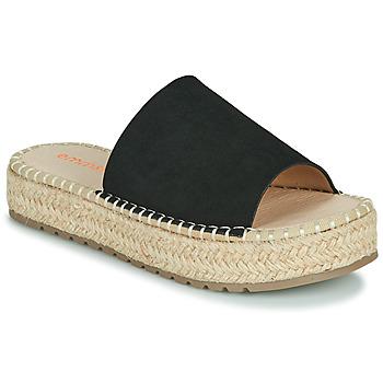 Cipők Női Papucsok Emmshu TAMIE Fekete
