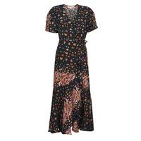 Ruhák Női Hosszú ruhák Derhy SUEDE Fekete  / Sokszínű