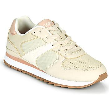 Cipők Női Rövid szárú edzőcipők Esprit AMBRO Bézs / Rózsaszín