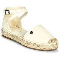 Cipők Női Gyékény talpú cipők Esprit TUVA Fehér