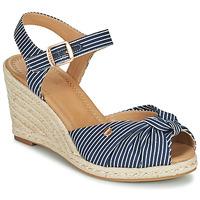 Cipők Női Szandálok / Saruk Esprit ELIN Kék / Fehér