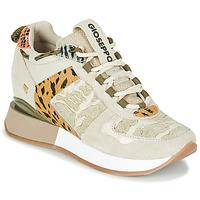 Cipők Női Rövid szárú edzőcipők Gioseppo PATERSON Bézs / Keki
