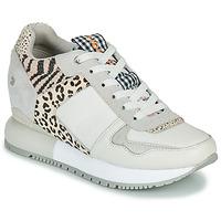 Cipők Női Rövid szárú edzőcipők Gioseppo OVERLAND Fehér / Fekete