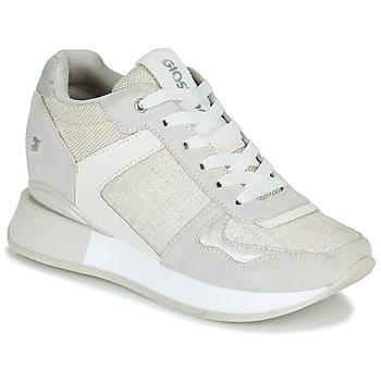 Cipők Női Rövid szárú edzőcipők Gioseppo RALEIGH Fehér