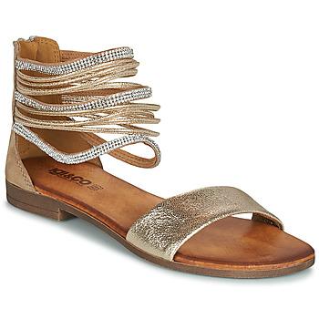 Cipők Női Szandálok / Saruk IgI&CO BRONIA Arany / Konyak