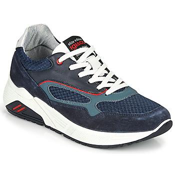 Cipők Férfi Rövid szárú edzőcipők IgI&CO COCULA Tengerész / Piros