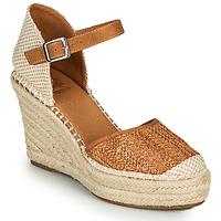 Cipők Női Gyékény talpú cipők Xti SPARROW Konyak