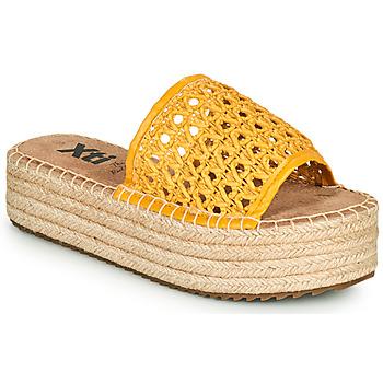 Cipők Női Papucsok Xti FREDI Citromsárga