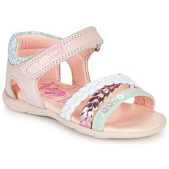 Cipők Lány Szandálok / Saruk Pablosky KINNO Rózsaszín