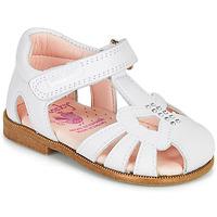 Cipők Lány Szandálok / Saruk Pablosky PAMMO Fehér