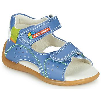 Cipők Fiú Szandálok / Saruk Pablosky KINNI Kék