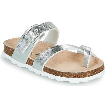 Cipők Lány Papucsok Citrouille et Compagnie OMILA Ezüst