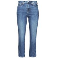 Ruhák Női Slim farmerek Pepe jeans DION 7/8 Kék / Átlagos / Hf8