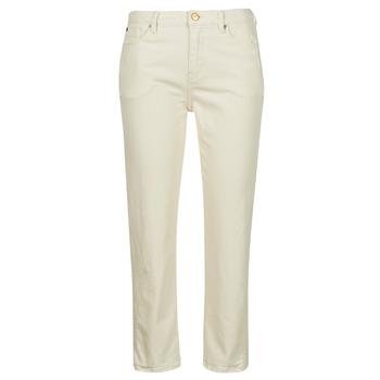 Ruhák Női Slim farmerek Pepe jeans DION 7/8 Ekrü / Wi5