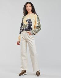 Ruhák Női Egyenes szárú farmerek Pepe jeans LEXA SKY HIGH Fehér / Wi5