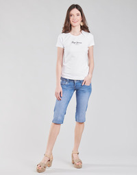 Ruhák Női 7/8-os és 3/4-es nadrágok Pepe jeans VENUS CROP Kék