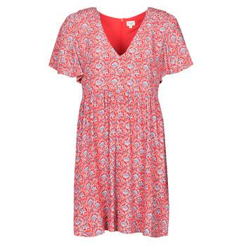 Ruhák Női Rövid ruhák Pepe jeans CAROLINA Piros / Kék