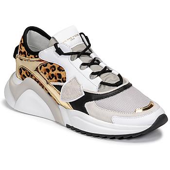 Cipők Női Rövid szárú edzőcipők Philippe Model EZE Sokszínű