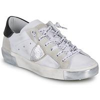 Cipők Női Rövid szárú edzőcipők Philippe Model PARIS Fehér