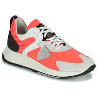 Cipők Női Rövid szárú edzőcipők Philippe Model ROYALE Korall