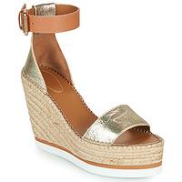 Cipők Női Gyékény talpú cipők See by Chloé GLYN Arany