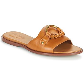 Cipők Női Papucsok See by Chloé HANA SB3305 Konyak