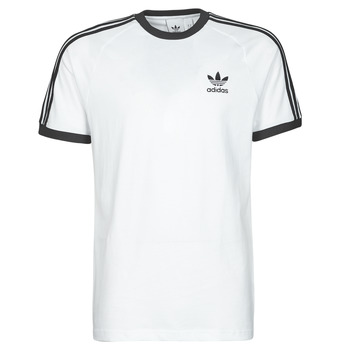 Ruhák Férfi Rövid ujjú pólók adidas Originals 3-STRIPES TEE Fehér