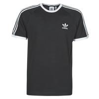 Ruhák Férfi Rövid ujjú pólók adidas Originals 3-STRIPES TEE Fekete
