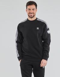 Ruhák Férfi Pulóverek adidas Originals 3D TF 3 STRP CR Fekete