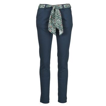 Ruhák Női Chino nadrágok / Carrot nadrágok Le Temps des Cerises LIDY Kék