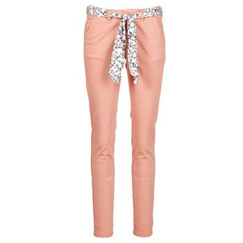 Ruhák Női Chino nadrágok / Carrot nadrágok Le Temps des Cerises LIDY Rózsaszín