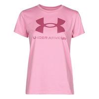 Ruhák Női Rövid ujjú pólók Under Armour LIVE SPORTSTYLE GRAPHIC SSC Rózsaszín