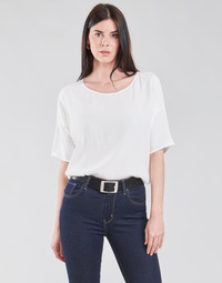 Ruhák Női Blúzok Esprit COL V LUREX Fehér