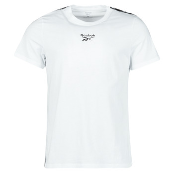 Ruhák Férfi Rövid ujjú pólók Reebok Classic TE TAPE TEE Fehér