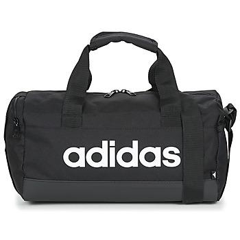 Táskák Sporttáskák adidas Performance LIN DUFFLE XS Fekete